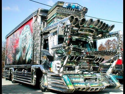 แต่งรถบรรทุก สไตน์ญี่ปุ่น สุดยอดสวยจริงๆ