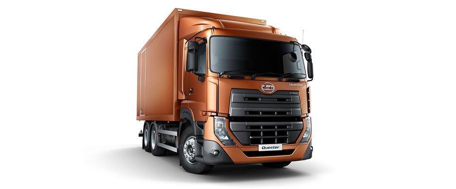 รีวิวรถบรรทุก UD Trucks รุ่น Quester CDE