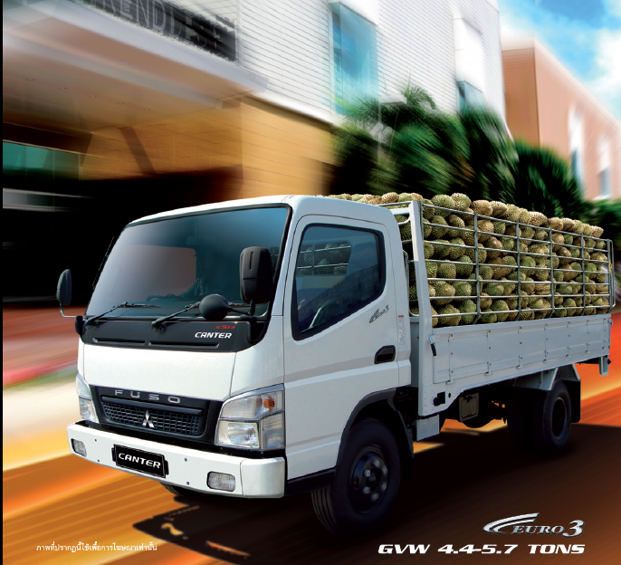 รีวิวรถบรรทุก MITSUBISHI FUSO Canter 4 ล้อ, 6 ล้อ ขนาดเล็ก