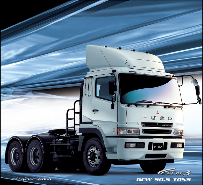 รีวิวรถบรรทุก MITSUBISHI FUSO Super Great (6X4 W)