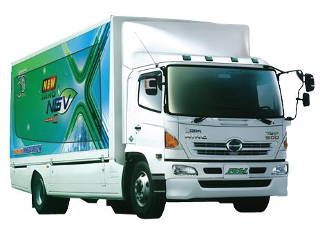 รีวิวรถบรรทุก HINO ประเภท6ล้อ NGV รุ่น FG1JPKA