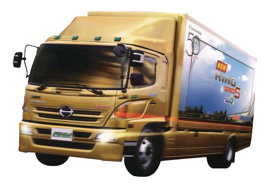 รีวิวรถบรรทุก HINO 6ล้อ รุ่น FG8JMLA