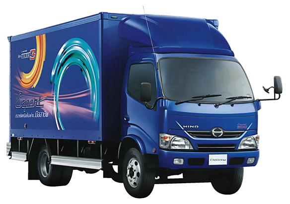 รีวิวรถบรรทุก HINO 6ล้อ รุ่น XZU650R