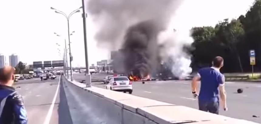 เหตุเกิดบนท้องถนนอุบัติเหตุจากรถบรรทุกถังแก๊ส