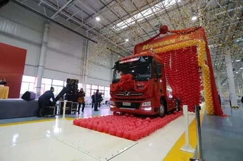 XCMG เผยโฉม 'HANVAN' รถบรรทุกขนาดใหญ่รุ่นล่าสุดปี2015