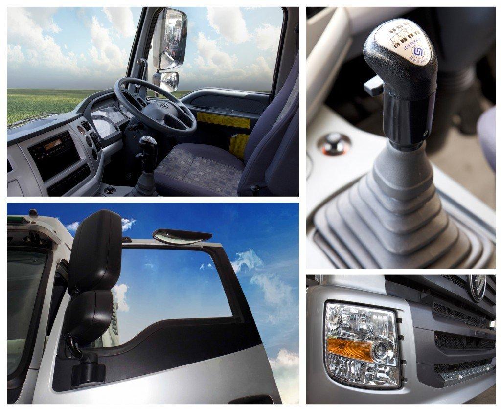 รีวิวรถบรรทุก Foton รุ่น Auman CNG (Tractor Truck)