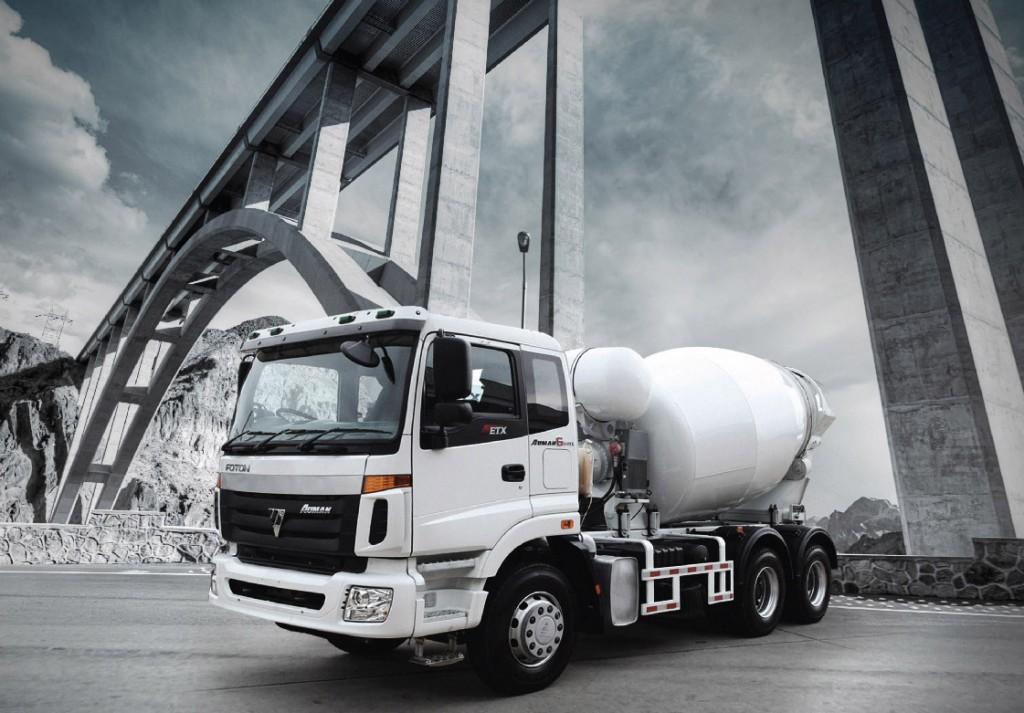 รีวิวรถบรรทุก Foton รุ่น Mixer Truck (Concrete Mixer Truck)