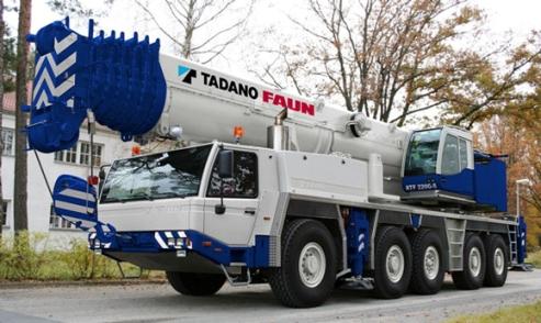 รีวิวรถบรรทุกติดเครน Tadano รุ่น ATF220G-5