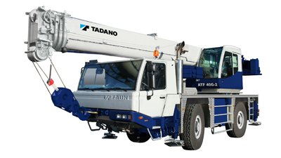 รีวิว รถบรรทุกติดเครน Tadano รุ่น ATF40G-2