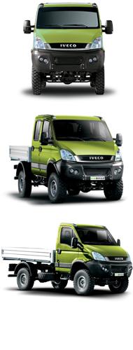 รีวิวรถบรรทุก IVECO รุ่น Daily 4 x 4 Range