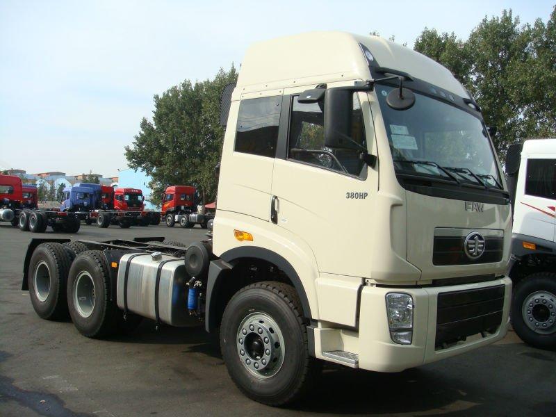 รีวิวรถบรรทุก FAW รุ่น 380 HP Tractor Head 6×4 CNG