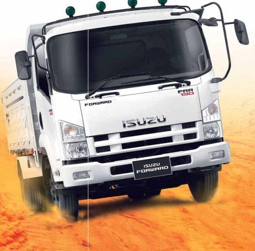 ISUZU FORWARD FRR ใหม่ 2014-2015