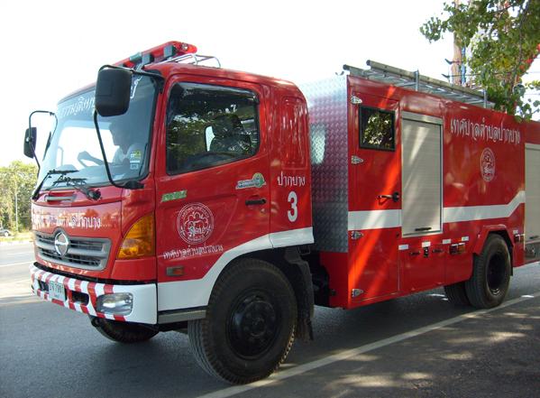 รีวิวรถดับเพลิง THAIINTERTRADE