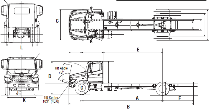 รีวิว รถบรรทุก Hino รุ่น 258LP ใหม่2015