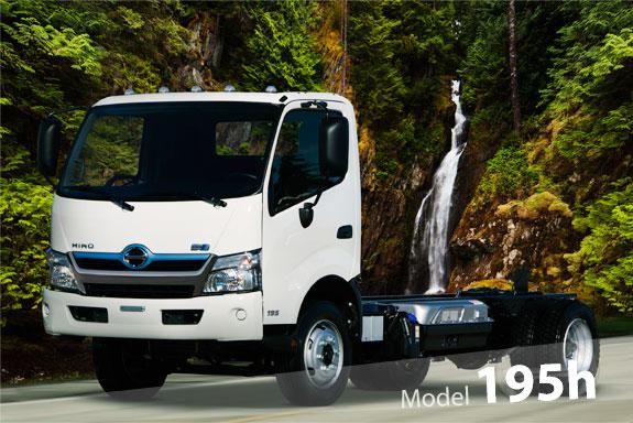 รีวิวรถบรรทุก Hino รุ่น 195H ใหม่2015