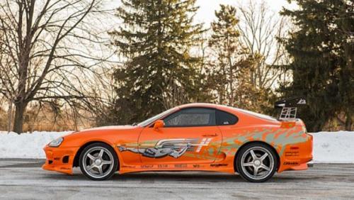 Toyota Supra จาก Fast and Furious ประมูลด้วยราคา 185,000 เหรียญสหรัฐฯ