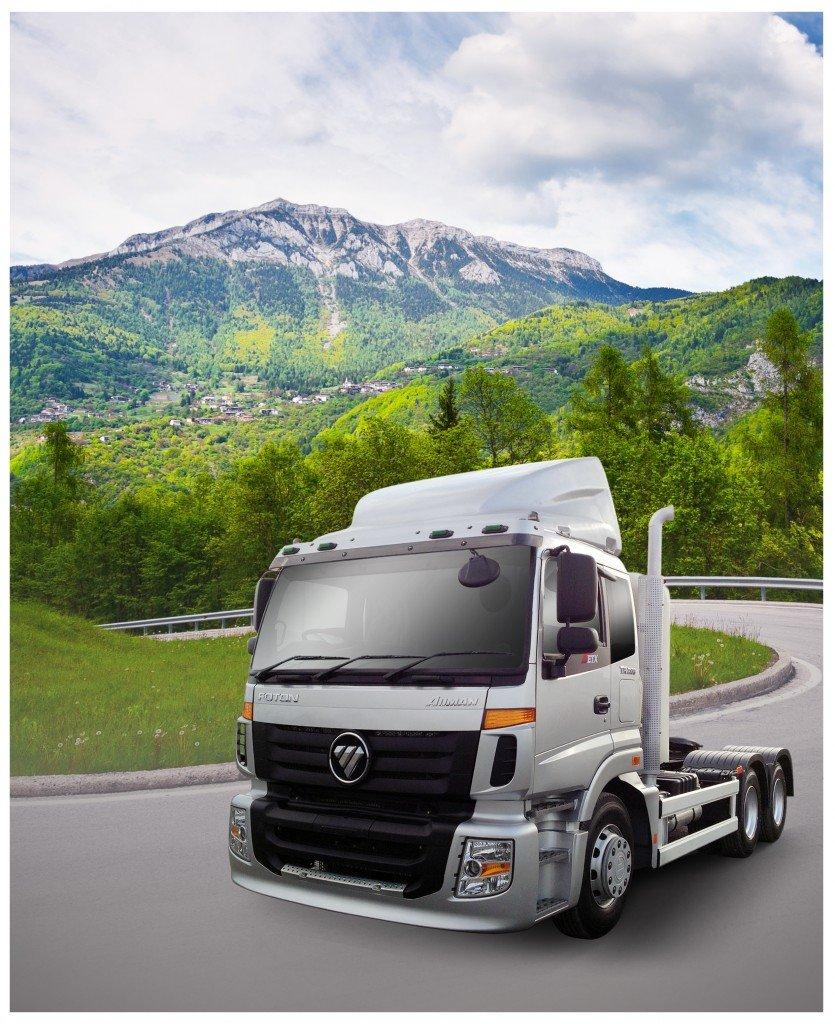 รีวิว รถบรรทุก Foton รุ่น Auman CNG (Tractor Truck)