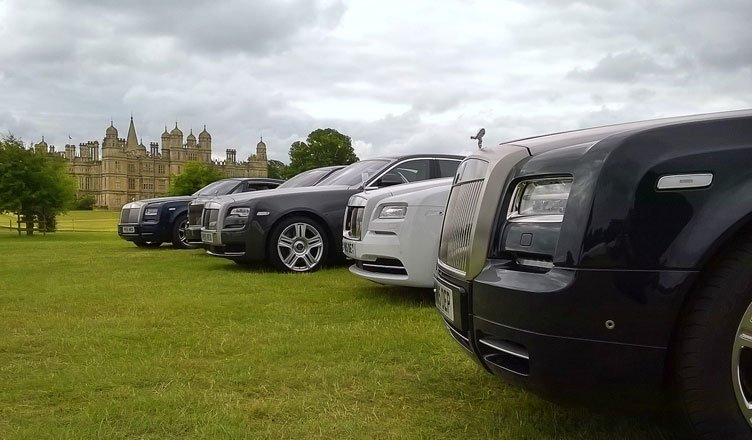 งานรวมพลยนตรกรรม Rolls-Royce ครั้งยิ่งใหญ่ที่สุดในโลก
