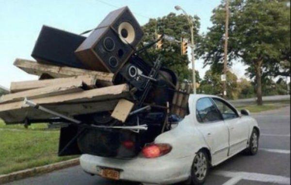 รวมภาพสุดยอดรถ(บรรทุก)สุดฮา ใช้รถคุ้มจริงๆ!