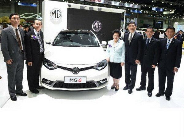MG เปิดตัว NEW MG6 ยิ่งใหญ่ในงาน BIG Motor Sale 2015