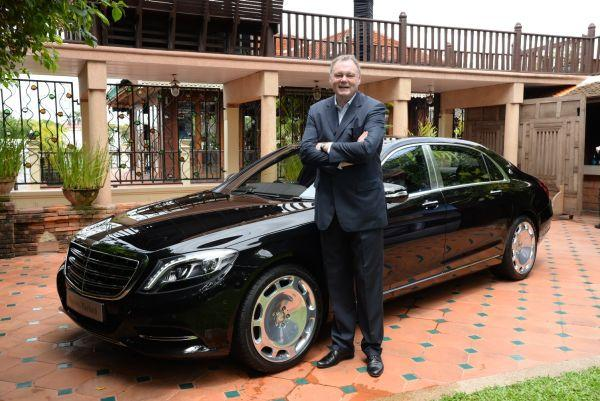 Mercedes-Maybach S500 ที่สุดแห่งยนตรกรรมหรูเหนือระดับ