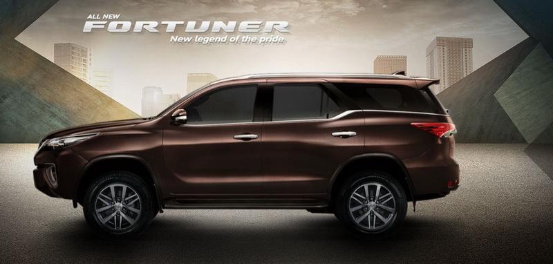 ข้อมูลพร้อมราคา All New Toyota Fortuner 2015-2016 โตโยต้า ฟอร์จูนเนอร์ ใหม่