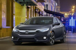Honda เผยโฉม 2016 Civic Sedan มาพร้อมเครื่องยนต์เทอร์โบชาร์จที่อเมริกา
