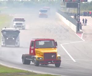 คลิปการแข่งขันรถบรรทุกสุดมัน TTF Truck Racing 2015
