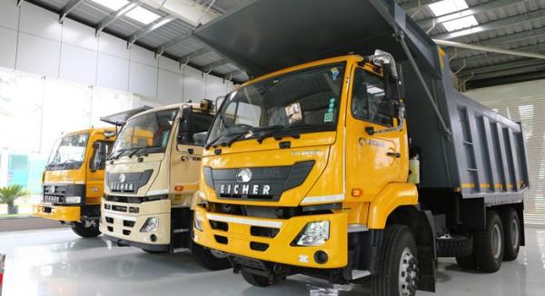 รถบรรทุก Eicher จากอินเดีย ปีนี้ยอดขายแรง!