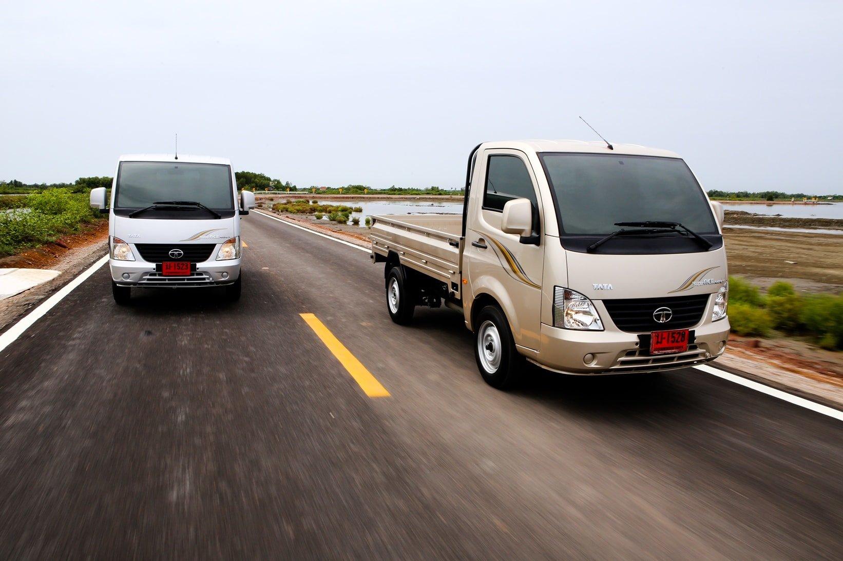 """TATA จัดทดสอบรถบรรทุกเล็ก """"ทาทา ซูเปอร์เอซ มินท์"""" เครื่องดีเซลเจ้าเดียวในตลาด"""
