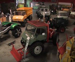 """รถบรรทุก""""Unimog"""" จาก Mercedes-Benz ฉลองครบรอบ 70 ปี"""