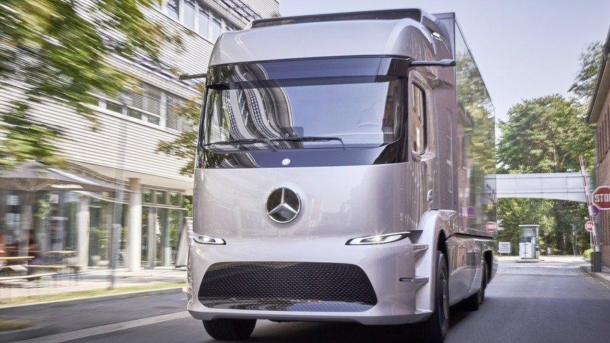 ชมภาพรถบรรทุกไฟฟ้าสุดล้ำ Mercedes-Benz Urban eTruck-02