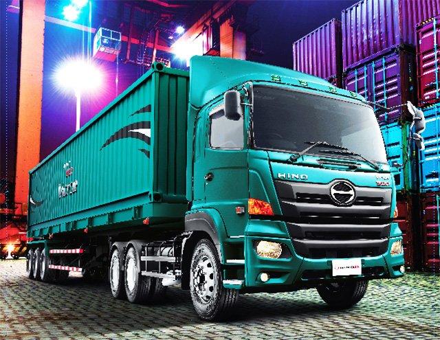 รถบรรทุก-Hino-2017