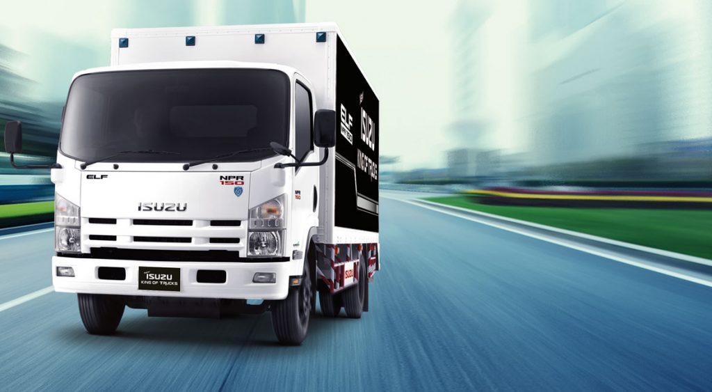 รถบรรทุก isuzu king of trucks 2017