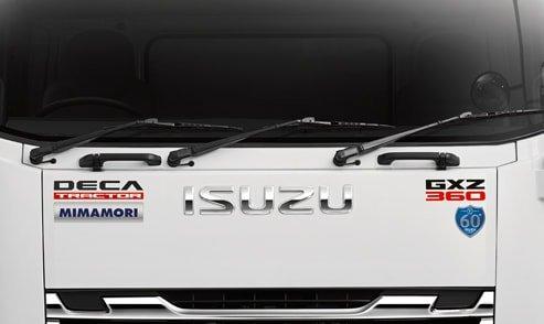 กระจังหน้ารถบรรทุก isuzu king of truck
