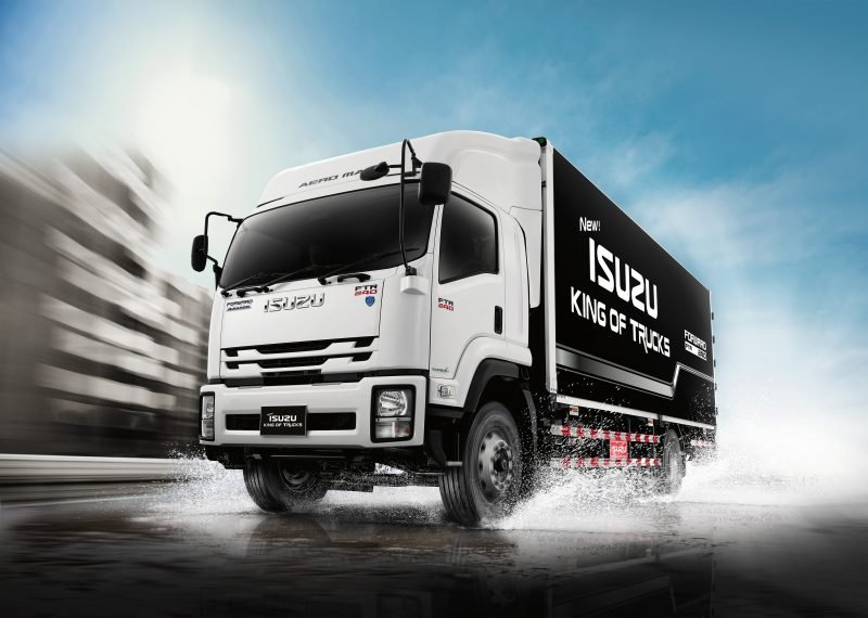 รถบรรทุก isuzu king of trucks