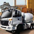 รีวิว รถบรรทุกผสมคอนกรีต  MIXER TRUCK /FOTON 340 แรงม้า
