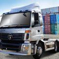 รีวิว รถบรรทุกหัวลากน้ำมัน  Tractor Truck Diesel/FOTON ดีเซล 375 แรงม้า