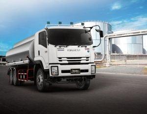 รีวิว รถบรรทุกน้ำมัน FVM 240 ABS / IESC
