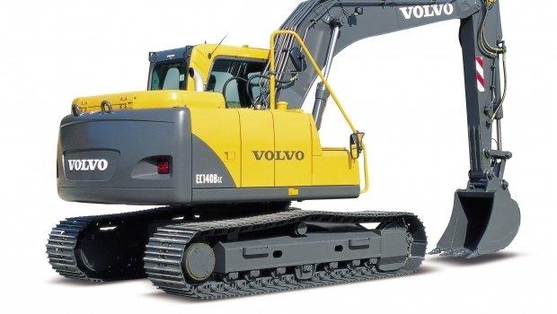 รีวิว รถขุด Volvo EC140B