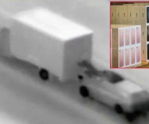 จับแก๊งปล้นไอโฟน นาทีรถบรรทุกวิ่งบนถนน มูลค่าเกือบ 20 ล้าน!