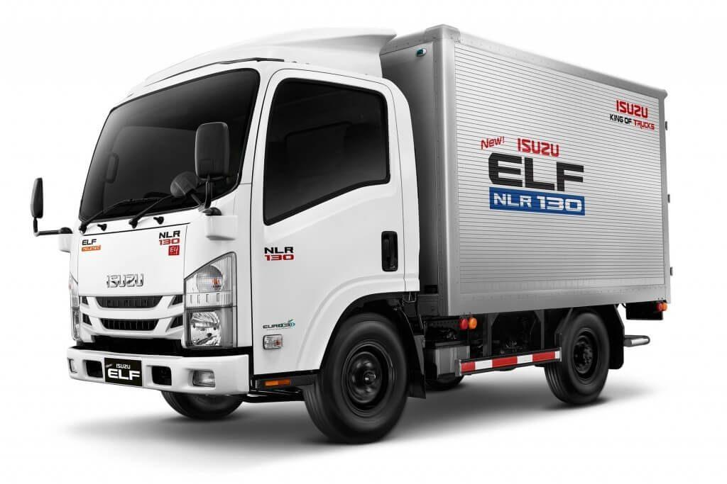 รถบรรทุกขนาดกลาง isuzu elf 2018