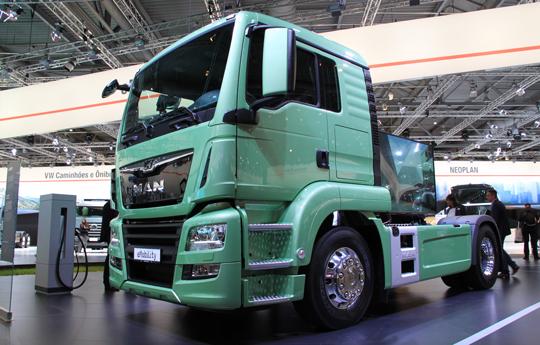 รถบรรทุกไฟฟ้า จาก MAN eMobility Truck