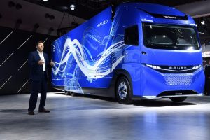 Daimler Trucks เปิดตัว รถบรรทุกไฟฟ้าต้นแบบ E-Fuso Vision One