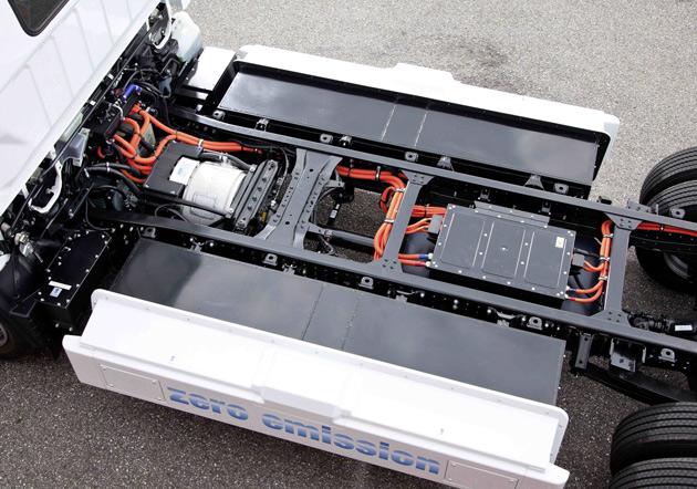 แบตเตอรี่ แนะนำรถบรรทุกไฟฟ้า Fuso eCanter ที่ใช้พลังงานไฟฟ้าเป็นอันดับแรกของโลก