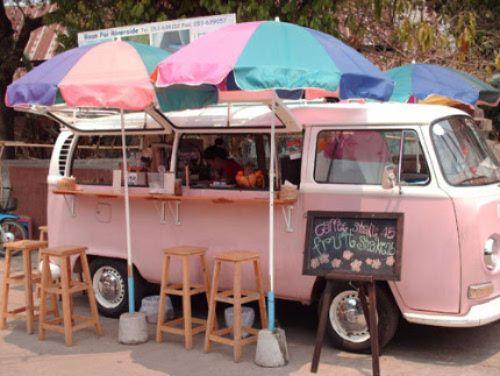 ฟู้ดทรัค vintage Food Truck ราคาถูก