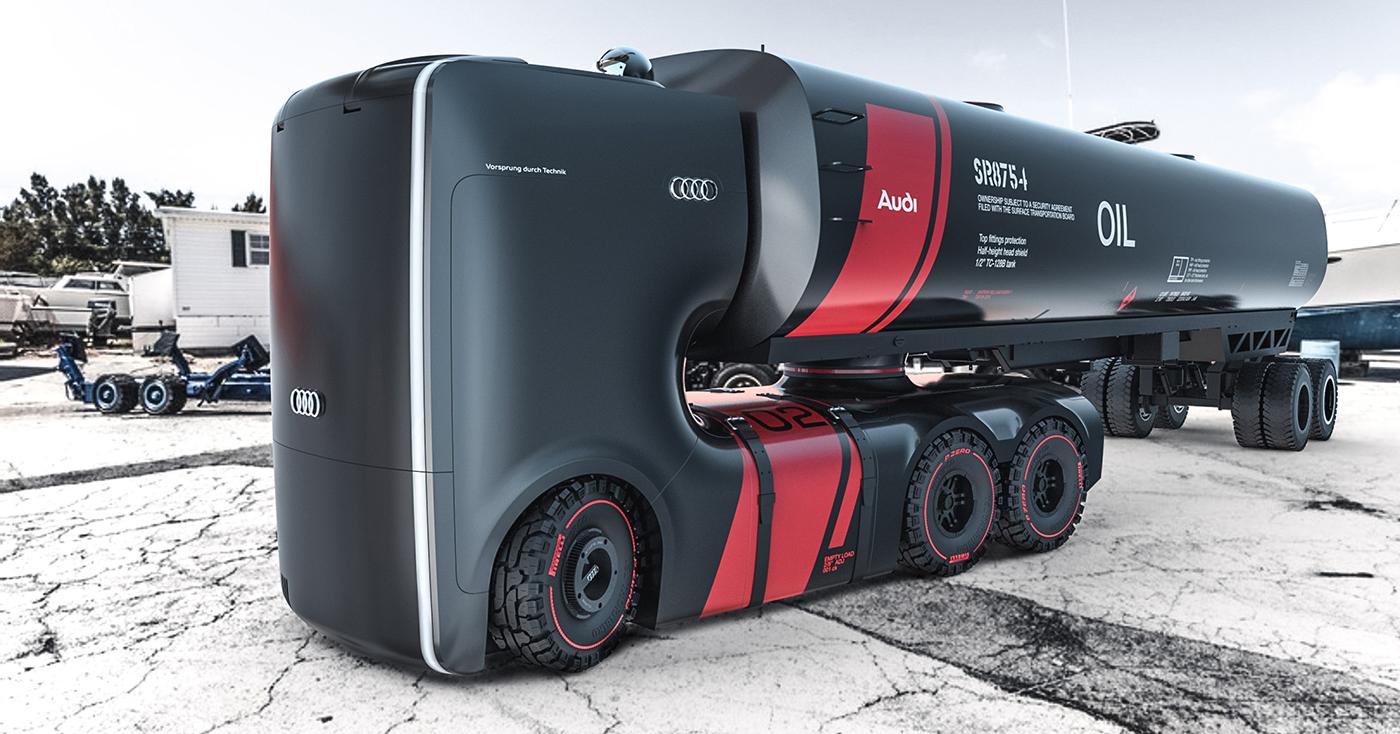 รถบรรทุกไฟฟ้าแห่งอนาคต ที่ได้แรงบันดาลใจจาก Star War