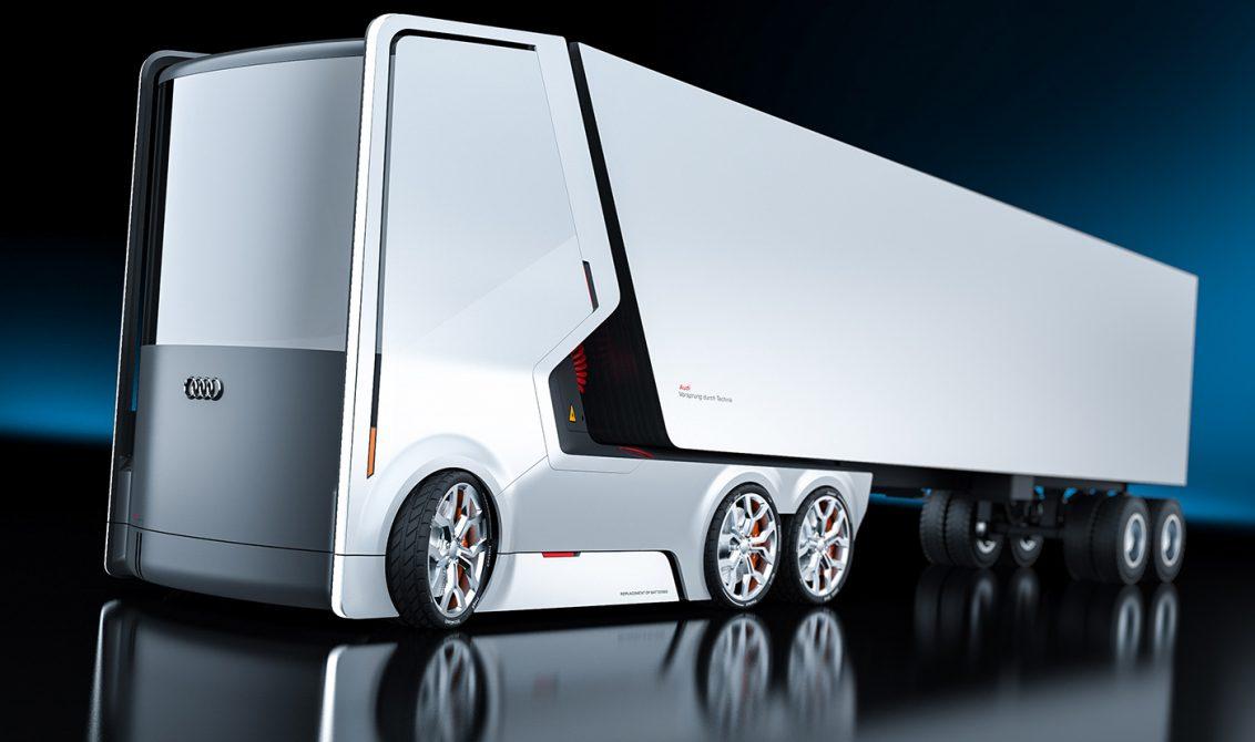 รถบรรทุกต้นแบบ Audi Truck Concept