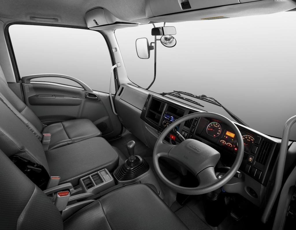 รถบรรทุกใหม่ ภายในรถบรรทุก isuzu frr