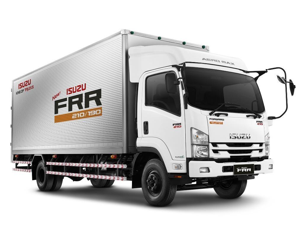 รถบรรทุกใหม่ isuzu frr ขนาดกลาง FRR